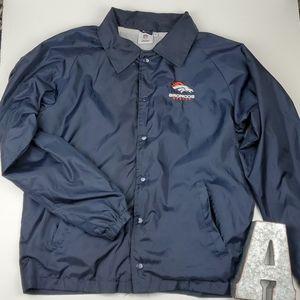 NFL Team Apparel Denver Broncos Windbreaker Jacket